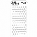 THS005 Stampers Anonymous Tim Holtz Layering Stencil - Honeycomb